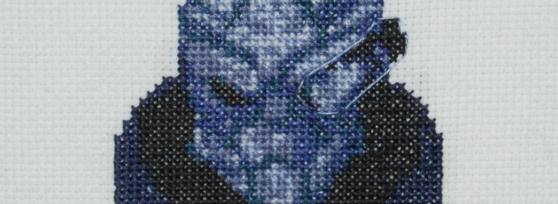 garrus vakarian cross stitch header