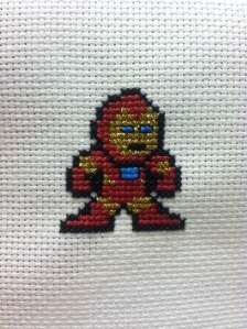 Iron Man Cross-stitch