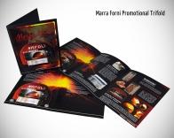 Marra Forni trifold brochure.