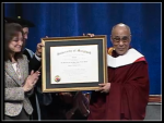 Dalai Lama at the University of Maryland