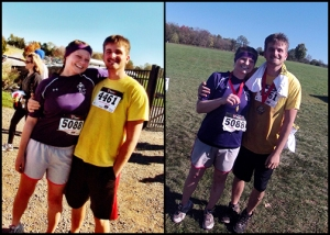 Before and After Blood and Guts 5K