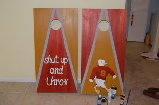 Salisbury University Cornhole Board