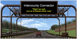 Intercounty-Connector, ICC, toll road, beltway, DC traffic