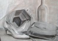 charcoal-still-life