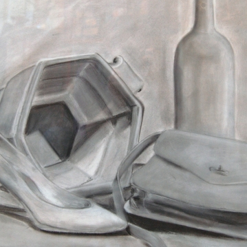 charcoal-still-life