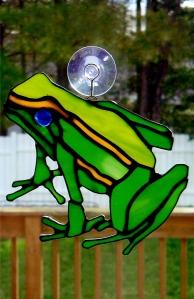 Frog Suncatcher