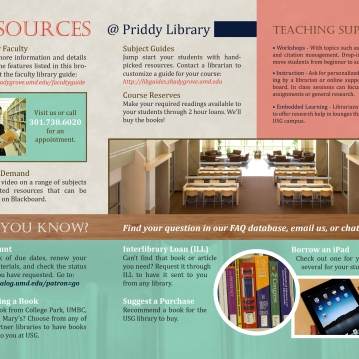 Priddy-Library-services