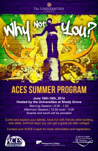 ACES Poster for Montgomery County Public Schools