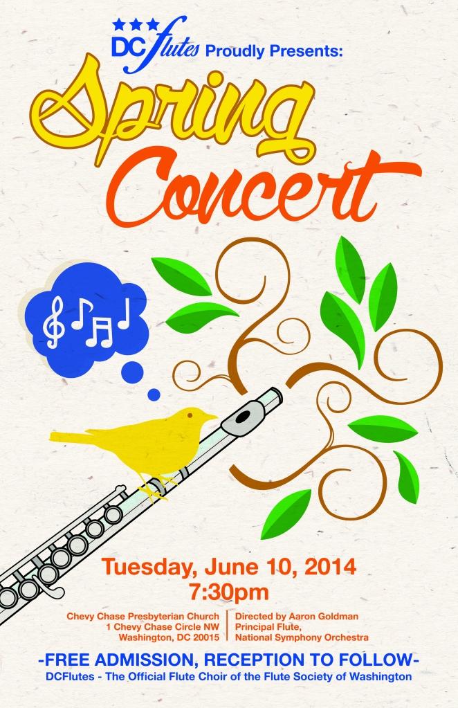 DC Flutes Spring Concert 2014
