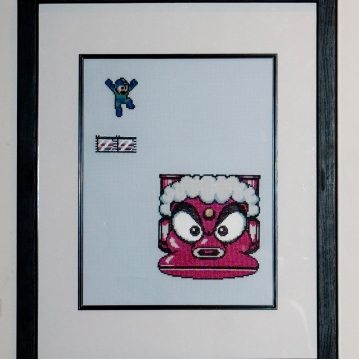 Megaman-Cross-Stitch