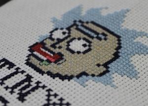 rick-sanchez-cross-stitch-detail
