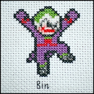 Joker-Sprite-Cross-Stitch
