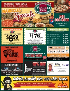 Manassas Vocelli Pizza Urban Evolution Ad