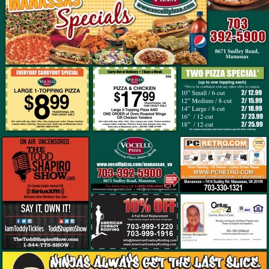Vocelli Pizza Urban Evolution Flyer
