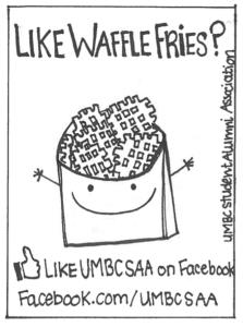 waffle fries UMBCSAA