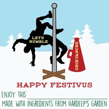 Chutney Festivus Sticker