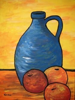 randie-Cezanne-style-Apples-Vase