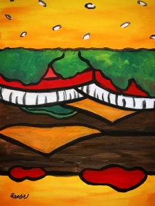 randie-cheeseburger-painting