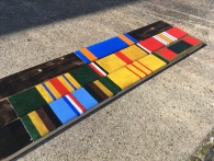 My painted stripes